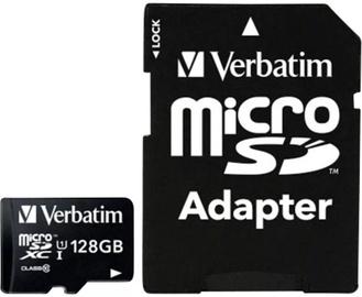 Verbatim Premium 128GB microSDXC Class 10 UHS-I + Adapter