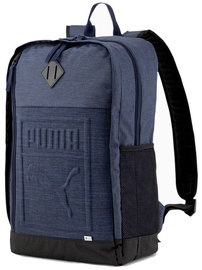 Puma S Backpack 075581 16 Navy Blue