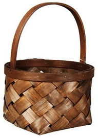 Verners Wood Basket 21x29