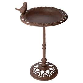 Decorative Birdbath On Pole 39cm