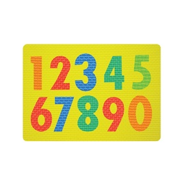 Lavinamasis žaislas, skaičiai, putplastis