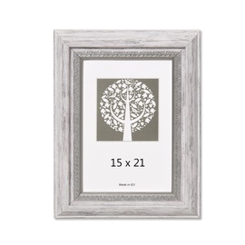 Nuotraukų rėmelis Natali, pilka, 15 x 21 cm