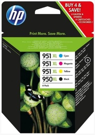 HP Ink Cartridge Black Cyan Magenta Yellow 4 Pack