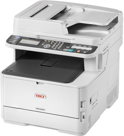 Многофункциональный принтер Oki MC363DNW, лазерный, цветной