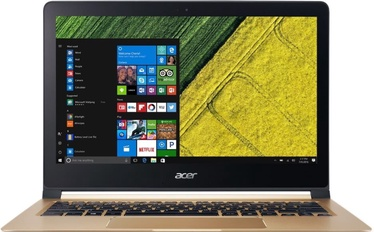 "Nešiojamas kompiuteris Acer Swift 7 SF713-51 13.3"" Gold (DEMONSTRACINIS)"