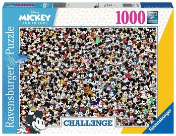 Ravensburger Puzzle Mickey And Friends Challenge 1000pcs 16744