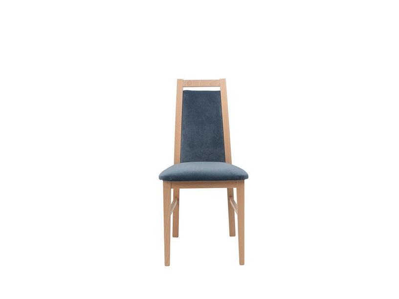 Стул для столовой Black Red White Salsa Chair Blue/Sonoma Oak