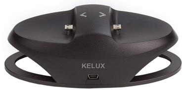 Kelux Dual Charging Dock With AC Adapter Black