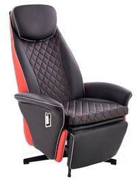 Halmar Camaro Recliner Black/Red