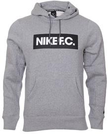 Nike F.C. Mens Football Hoodie CT2011 021 Grey M