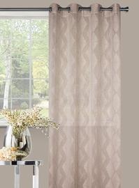 Domoletti Day Curtains Karo Beige 140x245cm