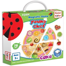 Roter Kafer Foam Magnetic Game Young Chef Cake RK3202-02