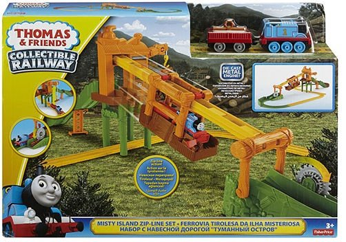 Fisher Price Thomas & Friends Misty Island Zip-Line DGC12