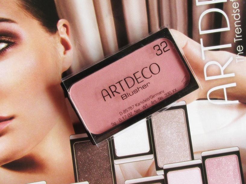 Румяна Artdeco 16 Dark Beige Rose Blush