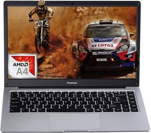 Prestigio Smartbook 141 C4 A4 4/64GB W10P ENG/RUS Metal Grey