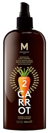 Mediterraneo Sun Carrot Sunscreen Dark Tanning Lotion SPF2 200ml