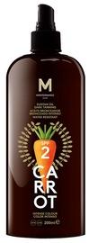 Apsauginis kūno aliejus nuo saulės Mediterraneo Sun Carrot Sunscreen Dark Tanning SPF2, 200 ml