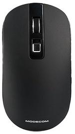 Kompiuterio pelė Modecom WM101 Black, bevielė, optinė