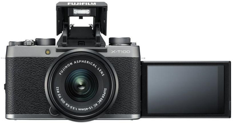 Fujifilm X-T100 + XC 15-45mm/f3.5-5.6 OIS PZ + XC 50-230mm f/4.5-6.7 OIS II Dark Silver