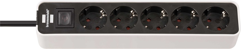 Pikendusjuhe Brennenstuhl Ecolor Power Cord 5x 1.5m Black