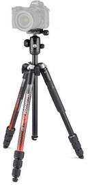 Alus Manfrotto Element MII Aluminum Tripod With Ball Head Red