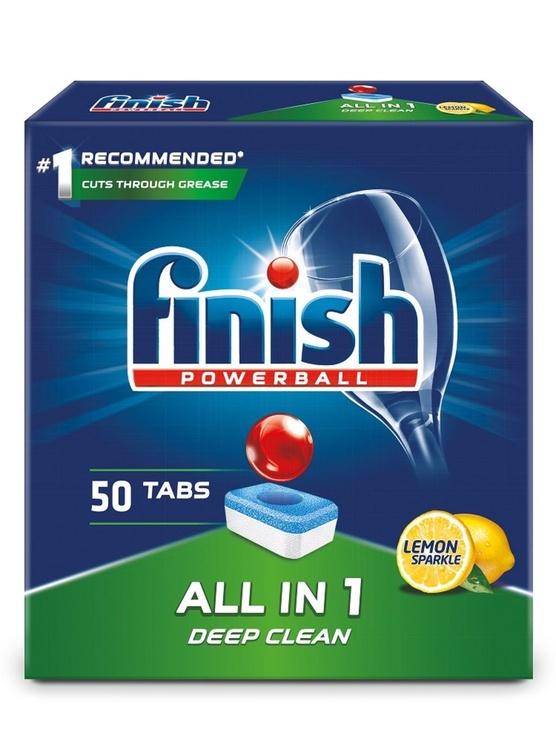 Finish All In 1 Box Lemon Tablets 50pcs