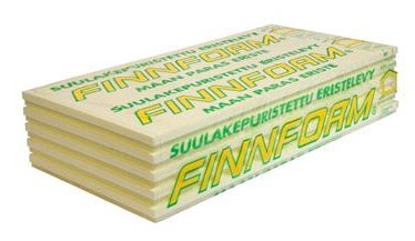 Ekstruzinis polistirenas Finnfoam FL-300 XX, 50 x 585 x 1235 mm