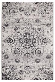 Ковер Evelekt Lotto 4, белый/серый, 150 см x 100 см