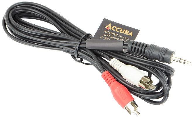 Accura Premium miniJack to RCA ACC2055 2.5m