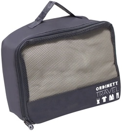 Ordinett Travel Bag 26x20x10cm T-Bag Grey