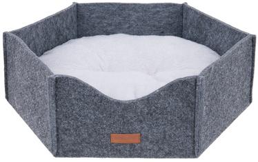 Лежанка Amiplay Hygge Crown Dog Bed 2in1 Gray S 45x39x15cm
