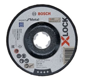 Šlifavimo diskas BOSCH X-LOCK 125x6mm
