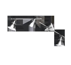 Lubinis šviestuvas trio Timber 805000430, 4x28W, E14