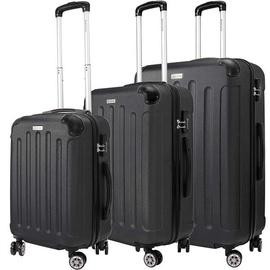 Kesser Travel Case Set 3pcs Black