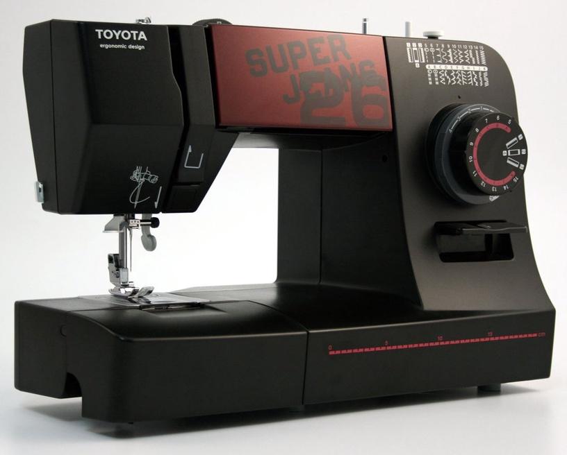 Siuvimo mašina Toyota Super Jeans 26