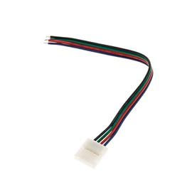 LED juostelių jungiamoji detalė su laidu Vagner SDH RGB 5050 4 kontaktų