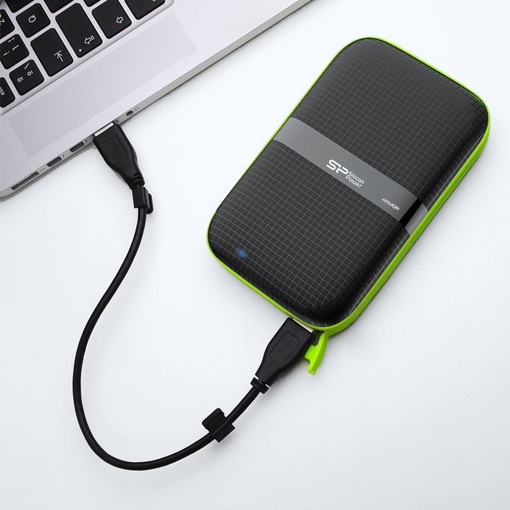 Silicon Power 2TB Armor A60 2.5'' USB 3.0 Black