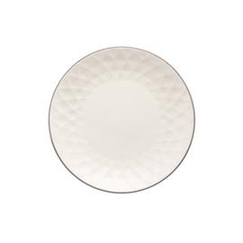 Desertinė lėkštė 2T8807, 19,5 cm, kreminė