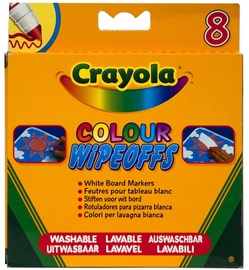 Crayola Colour Wipeoffs White Board Markers 8pcs
