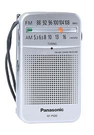 Kaasaskantav raadio Panasonic RF-P50DEG-S Portable Radio Silver