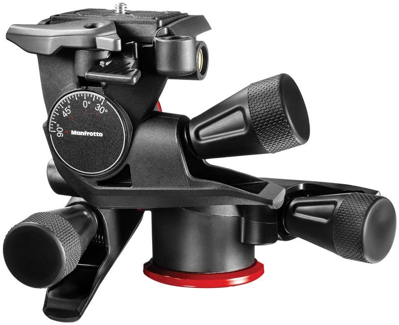 Manfrotto XPRO Geared 3-way Pan/Tilt Tripod Head