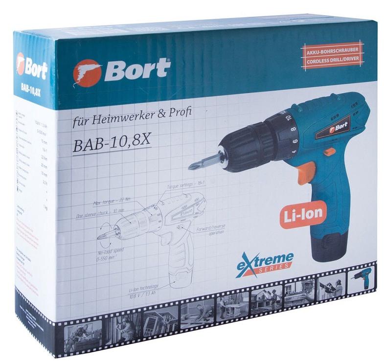 Bort BAB-10,8X Cordless Drill/Screwdriver