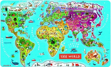 Janod World Puzzle J05504