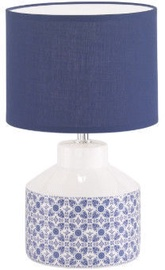 Fischer & Honsel Oland 50115 Table Lamp 40W E14 White/Blue