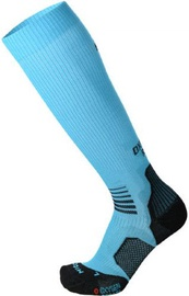 Mico Long Light Running Sock Oxi-Jet Blue 38-40