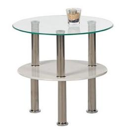 Black Red White Napoli Coffee Table Glass