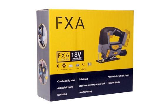 Figūrzāģis Fxa X Click JD5242K, 18V