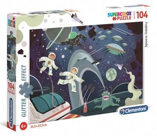 Clementoni Puzzle Super Color Glitter Effect Space Oddity 104pcs 726211