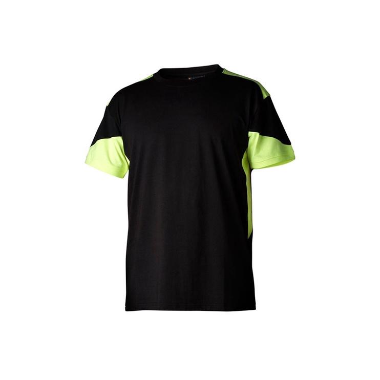Marškinėliai vyriški trumpomis rankovėmis Top Swede 210012-051, juodi, M