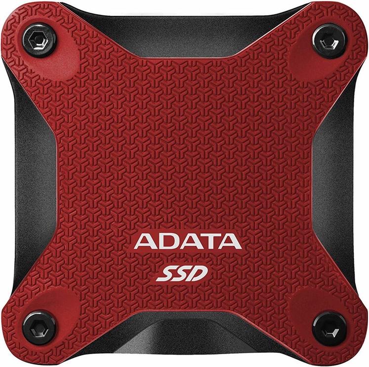 ADATA SD600Q 480GB USB 3.1 External SSD Red